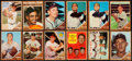 Baseball Cards:Lots, 1962 Topps Baseball Collection (339) With Green Tint Variations....