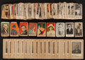 "Non-Sport Cards:Lots, Vintage Non-Sports ""W"" Strip Cards and Writers Playing CardsCollection (160). ..."