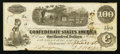 Confederate Notes:1862 Issues, T41 $100 1862 PF-9 Cr. UNL.. ...