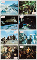 """Movie Posters:Science Fiction, Return of the Jedi (20th Century Fox, 1983). Spanish Lobby Cards (12) (9"""" X 11""""). Science Fiction.. ... (Total: 12 Items)"""