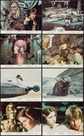 """Movie Posters:Science Fiction, Star Wars (20th Century Fox, 1977). Mini Lobby Card Set of 8 (8"""" X10"""") First Printing. Science Fiction.. ... (Total: 8 Items)"""