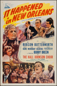 """Rainbow on the River (Screencraft, R-1945). One Sheet (27"""" X 41""""). Musical"""