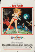 "Movie Posters:Science Fiction, Barbarella (Paramount, 1968). One Sheet (27"" X 41"") Style A.Science Fiction.. ..."