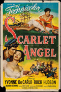 "Movie Posters:Adventure, Scarlet Angel (Universal International, 1952). One Sheet (27"" X41""). Adventure.. ..."
