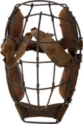 Baseball Collectibles:Others, Early 1900's Baseball Catcher's Mask....