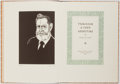 Books:Literature 1900-up, Edwin M. Todd. LIMITED. Through a Tiny Aperture. Van Nuys: Hoffman, 1987. Limited to 500 copies. Quarto. Publisher's...