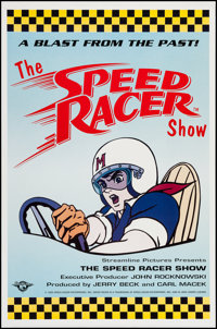 "The Speed Racer Show (Speed Racer Enterprises, 1992). One Sheet (27"" X 41""). Animation"