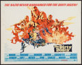"Movie Posters:War, The Dirty Dozen (MGM, 1967). Half Sheet (22"" X 28""). War.. ..."