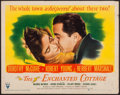 """Movie Posters:Romance, The Enchanted Cottage (RKO, 1945). Half Sheet (22"""" X 28"""") Style A. Romance.. ..."""