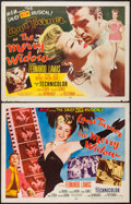 """Movie Posters:Musical, The Merry Widow (MGM, 1952). Half Sheets (2) (22"""" X 28"""") Styles A & B. Musical.. ... (Total: 2 Items)"""