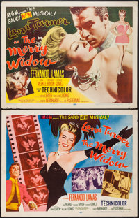 """The Merry Widow (MGM, 1952). Half Sheets (2) (22"""" X 28"""") Styles A & B. Musical. ... (Total: 2 Items)"""