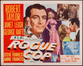 """Movie Posters:Crime, Rogue Cop (MGM, 1954). Half Sheet (22"""" X 28"""") Style A. Crime.. ..."""