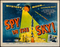 "Movie Posters:Thriller, Spy in the Sky! (Allied Artists, 1958). Half Sheet (22"" X 28""). Thriller.. ..."