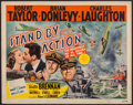 "Movie Posters:War, Stand By for Action (MGM, 1943). Half Sheet (22"" X 28""). War.. ..."