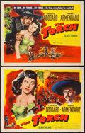 "Movie Posters:Drama, The Torch (Eagle Lion, 1950). Half Sheets (2) (22"" X 28"") Styles A & B. Drama.. ... (Total: 2 Items)"