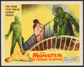 "Movie Posters:Horror, The Monster of Piedras Blancas (Film Service Distributing, 1959).Lobby Card (11"" X 14""). Horror.. ..."