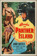 "Movie Posters:Adventure, Bomba on Panther Island (Monogram, 1949). One Sheet (27"" X 41"").Adventure.. ..."
