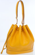 Luxury Accessories:Bags, Hermes Jaune Courchevel Leather Market MM Tote Bag. ...