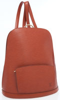 Luxury Accessories:Bags, Louis Vuitton Fawn Epi Leather Goeblins Backpack Bag. ...