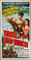 "Movie Posters:Adventure, Wake of the Red Witch (Republic, 1949). Three Sheet (41"" X 79"").Adventure.. ..."