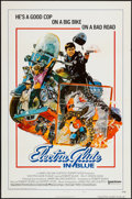 "Movie Posters:Crime, Electra Glide in Blue (United Artists, 1973). One Sheet (27"" X 41"")Flat Folded Style B. Crime.. ..."