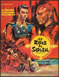 """Movie Posters:Adventure, Kings of the Sun (United Artists, 1964). French Affiche (22.25"""" X29.5""""). Adventure.. ..."""