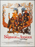 """Movie Posters:Animation, The Lord of the Rings (United Artists, 1978). French Grande (47"""" X63""""). Animation.. ..."""