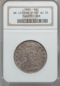 Bust Half Dollars, 1832 50C Small Letters AU55 NGC. O-107. NGC Census: (282/949). PCGSPopulation (331/651). Mintage: 4,797,000. Numismedi...