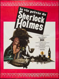 "Movie Posters:Mystery, The Private Life of Sherlock Holmes (United Artists, 1970). FrenchGrande (46"" X 61""). Mystery.. ..."
