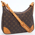 Luxury Accessories:Bags, Louis Vuitton Classic Monogram Canvas Boulogne Shoulder Bag. ...