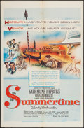 "Movie Posters:Romance, Summertime (United Artists, 1955). One Sheet (27"" X 41""). Romance.. ..."