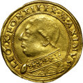 Italy:Papal States, Italy: Papal States. Pope Leone X gold 2.5 Ducati ND (1513-21),...