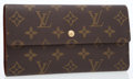 Luxury Accessories:Bags, Louis Vuitton Classic Monogram Canvas Sarah Wallet. ...
