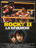 "Movie Posters:Sports, Rocky II (United Artists, 1980). French Grande (45.5"" X 62""). Sports.. ..."