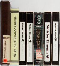 [Science Fiction Movies]. Group of Seven (7) VHS Tapes including four by Sinister Cinema:The Lost Zeppelin