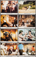 """Movie Posters:Action, Return of the Dragon (Bryanston, 1974). Lobby Card Set of 8 (11"""" X 14""""). Action.. ... (Total: 8 Items)"""