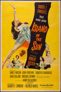 "Island in the Sun (20th Century Fox, 1957). Poster (40"" X 60"") Style Y. Drama"