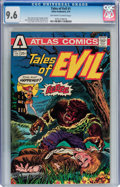 Bronze Age (1970-1979):Horror, Tales of Evil #1 (Atlas-Seaboard, 1975) CGC NM+ 9.6 Off-white towhite pages....