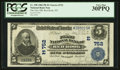 National Bank Notes:New York, Red Hook, NY - $5 1902 Plain Back Fr. 598 The First NB Ch. # (E)752. ...