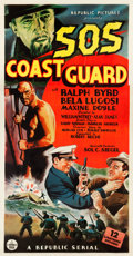 "Movie Posters:Serial, S.O.S. Coast Guard (Republic, 1937). Three Sheet (41"" X 78.5"")....."