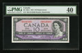 Canadian Currency: , BC-40bA 1954 $10 Replacement. ...