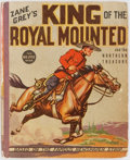 Books:Children's Books, Zane Grey. BIG LITTLE BOOK. King of the Royal Mounted and theNorthern Treasure. Whitman Publishing, 1937. Illus...
