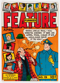 Feature Funnies #19 (Chesler, 1939) Condition: FN/VF