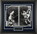 """Football Collectibles:Photos, Roger Staubach and Drew Pearson """"Hail Mary"""" Multi Signed Oversized Photograph...."""