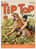 Golden Age (1938-1955):Miscellaneous, Tip Top Comics #45 (United Features Syndicate/Standard, 1940) Condition: FN-....