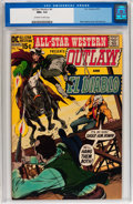 Bronze Age (1970-1979):Western, All-Star Western #4 (DC, 1971) CGC NM+ 9.6 Off-white to white pages....