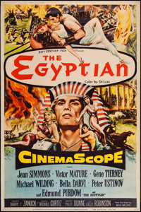 "The Egyptian (20th Century Fox, 1954). Poster (40"" X 60"") Style Z. Historical Drama"