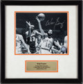 Basketball Collectibles:Photos, Walt Frazier Signed Photograph....