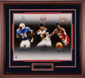 Miscellaneous Collectibles:General, Houston Sports Legends Multi Signed Oversized Print....