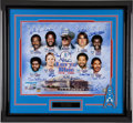 "Football Collectibles:Photos, 1978-80 ""Luv Ya Blue"" Houston Oilers Multi Signed OversizedPhotograph...."